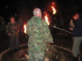 13. výroční oheň T.O. Falešná karta (26.-28. 9. 2008)