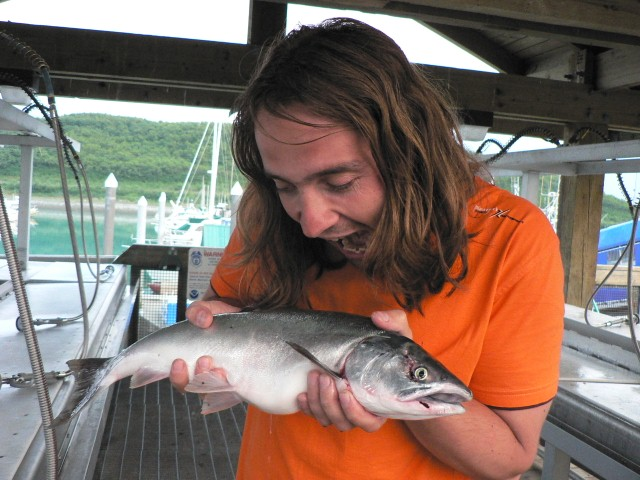 Vlasťák s rybiškou