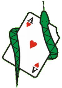 Falešná karta – logo